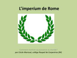 L`imperium de Rome