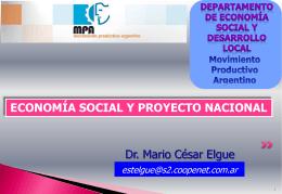 economia social y proyecto nacional