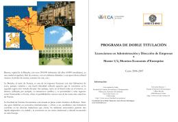 Rennes - Facultad de Ciencias Económicas y Empresariales