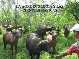 la agroecología y las ciencias básicas