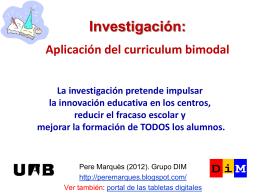 Investigación - DIM-UAB