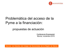facilitar la financiación