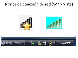 Iconos de conexión de red