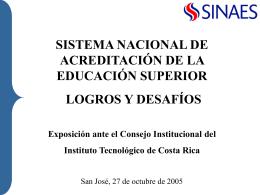 Diapositiva 1 - Tecnológico de Costa Rica