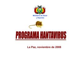 Hanta Virus - Ministerio de Salud