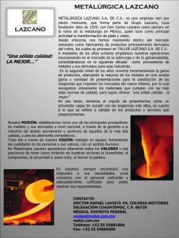 Metalurgica Lazcano