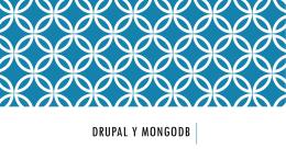 Drupal y mongoDB