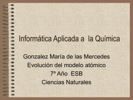 RESUMEN MODELOS ATOMICO