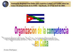 Seminario Regional Post Doha para América Latina y el