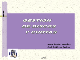 Particiones - Servidor de Información de Sistemas Operativos