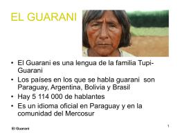 El Guarani