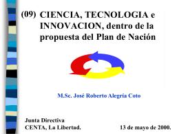 C) Financiamiento al Desarrollo C&T. ESTRATEGIA 1