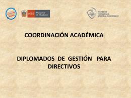DIPLOMADO DE ACTUALIZACIÓN PROFESIONAL