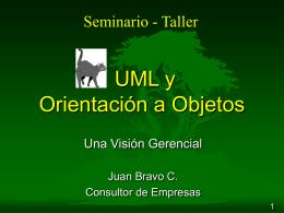 UML y orientación a objetos
