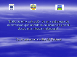 """""""Elaboración y aplicación de una estrategia de intervención que"""