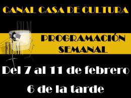 Lunes, 14 de febrero LARGO DOMINGO DE NOVIAZGO