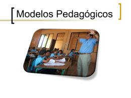 Modelo pedagógico