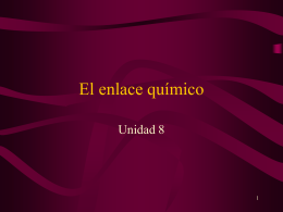 El enlace químico - I.E.S. San Diego de Alcalá