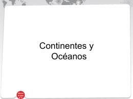 ppt continentes y océanos