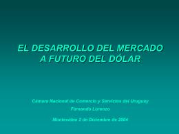 presentacion Lorenzo - Cámara Nacional de Comercio y Servicios