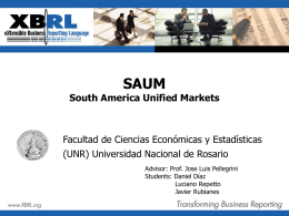 south america unified markets