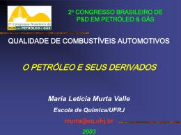Aula 1 - Curso Técnico de Petróleo da UFPR