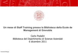 Carlo Podaliri - Portale delle Biblioteche