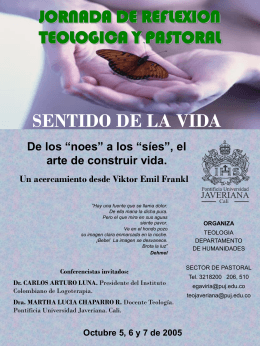 afiche final jorn re.. - Pontificia Universidad Javeriana, Cali