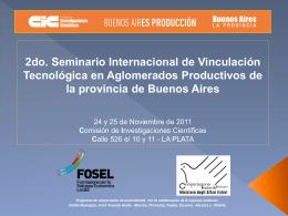 Seminario Internacional de Vinculación Tecnológica en
