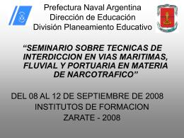 Prefectura Naval Argentina División Planeamiento