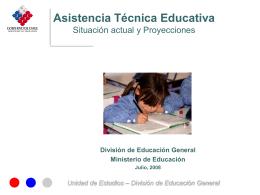 División de Educación General