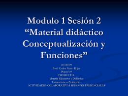Material Didactico y Educativo