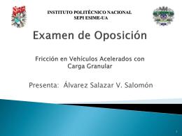 Diapositiva 1 - esime - Instituto Politécnico Nacional