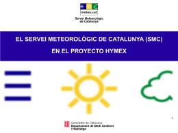 Infraestructura meteorológica Reunión HyMeX.es, Barcelona 20