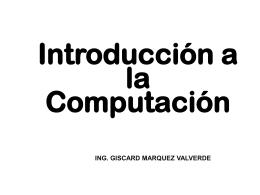 diapositiva sobre computacion