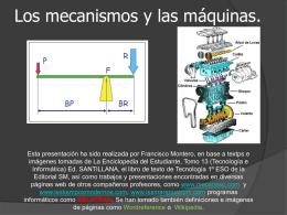 MECANISMOS Y MAQUINAS