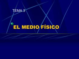 3_EL MEDIO FÍSICO