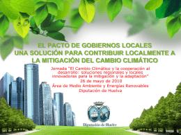 planes de acción energía sostenible provincia de huelva