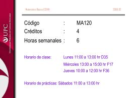 Introducción al curso (Prof. Armando Novoa)