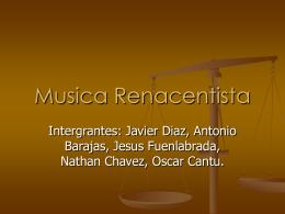 PowerPoint - La Musica Renacentista