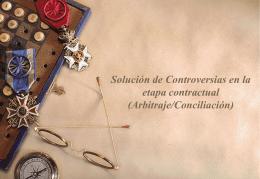 Arbitraje/Conciliación