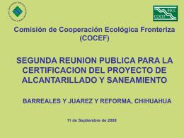 Comisión de Cooperación Ecológica Fronteriza (COCEF)