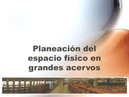 """Distribución de los acervos en la biblioteca """"Dr. Jorge"""