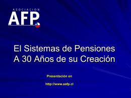 Principales Aspectos de la Reforma Previsional