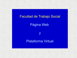 cuenta de usuario - Plataforma Virtual Educativa