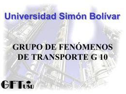 G7:Susana Zeppieri-Fenómenos de Transporte