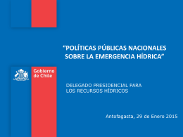 Políticas Públicas Nacionales