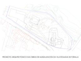 Proxecto arquitectónico de musealización da vila
