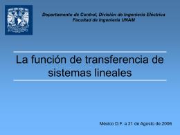 Clase04 - departamento de procesamiento de señales