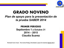 NOVENO_Contenidos_Primer_Periodo_20142015 - bennett-soft